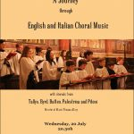 Worcester College Oxford Chapel Choir Concert, Wednesday July 20th at 8.30 p.m.