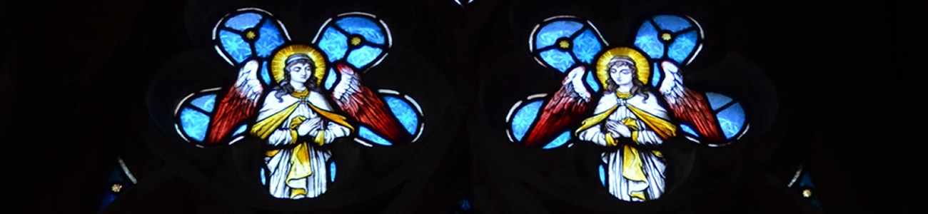 Detail from stained glass